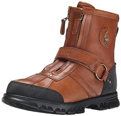 Polo Ralph Lauren Men\u0027s Conquest Hi Boot, Polo Tan, ...