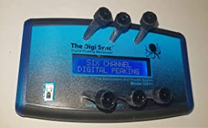 6-CHANNEL - The Digi Sync | Digital Throttle Body Sync Tool | Digital Carb Sync Tool | Vacuum Gauge (Digital Peaking Manometer) | NOT Syncpro