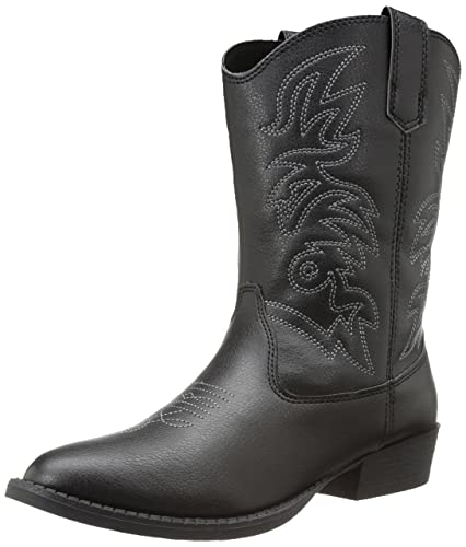 72dae6f9fbd Deer Stags Ranch Unisex Pull On Western Cowboy Fashion Comfort Boot (Little  Kid/Big Kid)