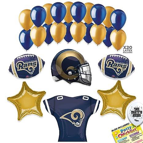 the latest 3a4e7 fac18 Amazon.com: Los Angeles Rams SUPER BOWL 53 Football NFL ...