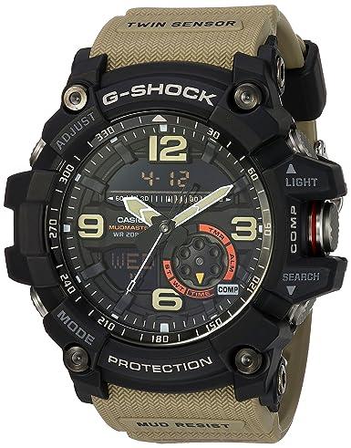 60db7c153609 Casio G-Shock Mudmaster Men s Black Ana-Digi Dial Resin Band Watch - GG-1000 -1A5  Casio  Amazon.co.uk  Watches