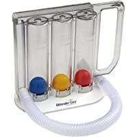 Wonder Care Deep Breathing Volumetric Lung Exerciser Breath Measurement System - Washable & Hygienic