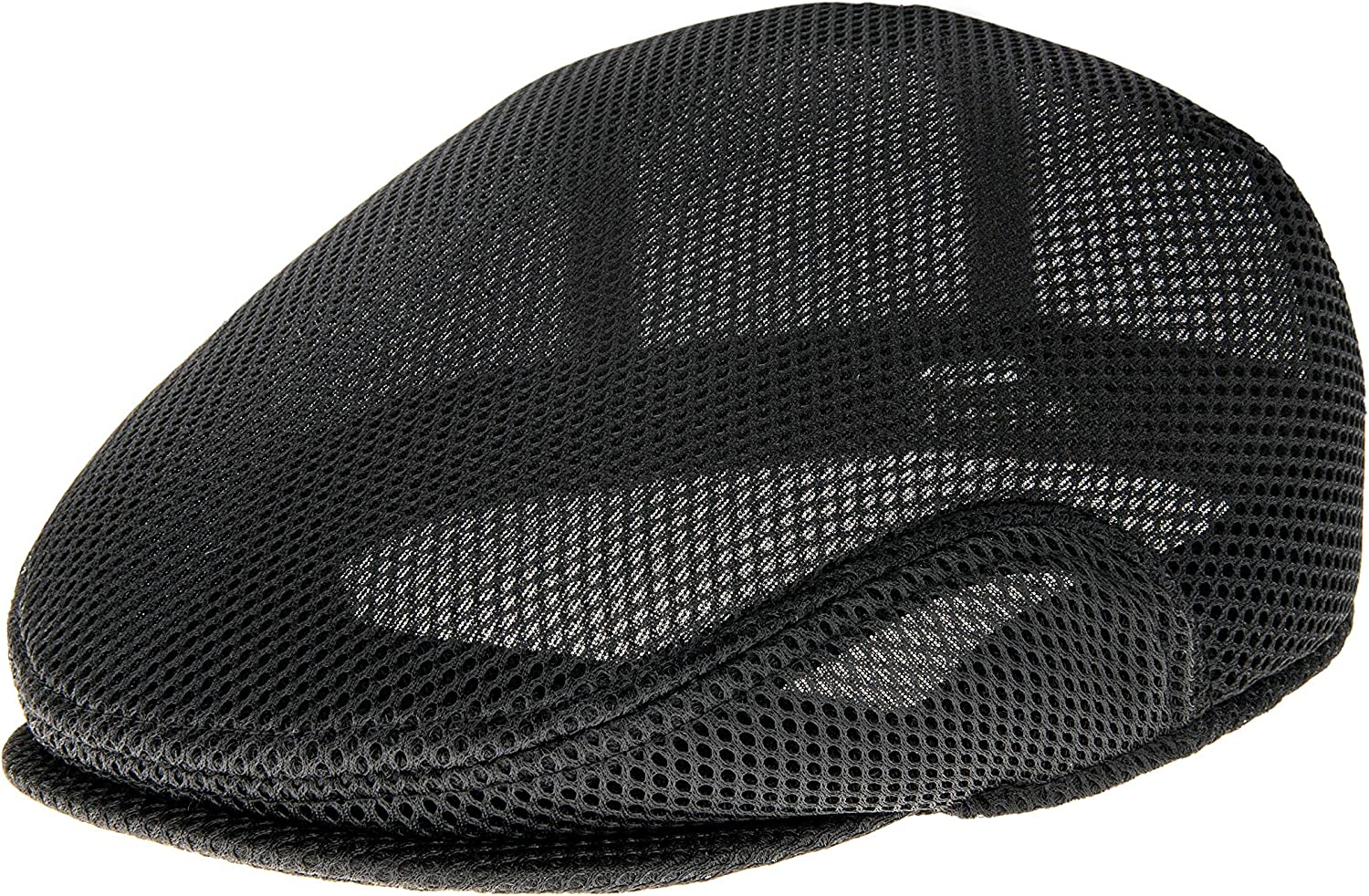 BOTVELA Men Breathable Mesh Summer Cap Irish Flat Cap Lightweight Newsboy Ivy Cap