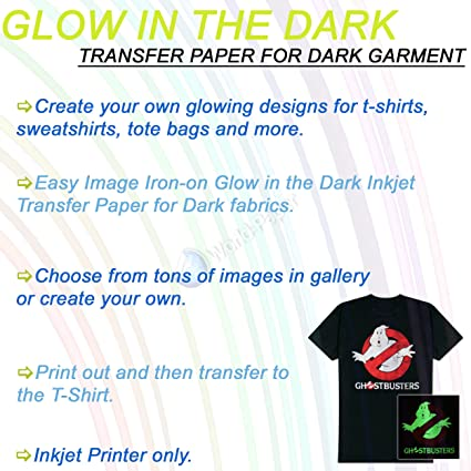 image regarding Printable Tshirt Transfers named : Printable Shine within just the Dim Warm move paper