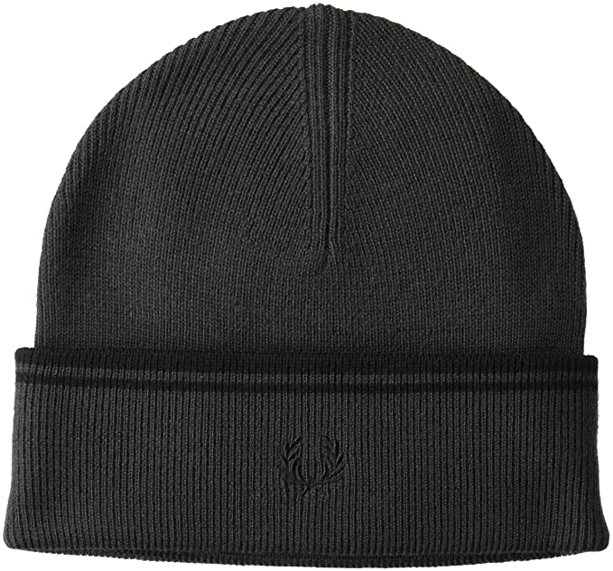 6aa494dfb06 Fred Perry Unisex-Adult s Twin Tipped Merino Wool Beanie Hat