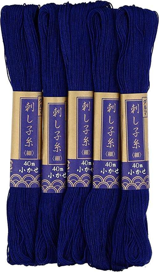Sashiko thread 40m col.1 5x1