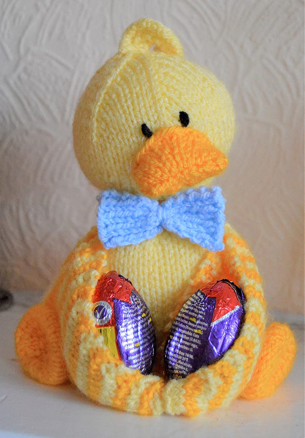 KNITTING PATTERN Ducky Egg Soft Toy Pattern from Knitting by Post ...