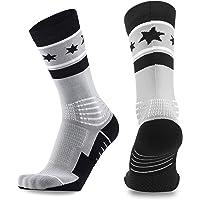 9d1e3df36ca Basketball Socks Elite Socks Athletic Sports Socks Athletic Crew Sport for  Men Women Boys Girls