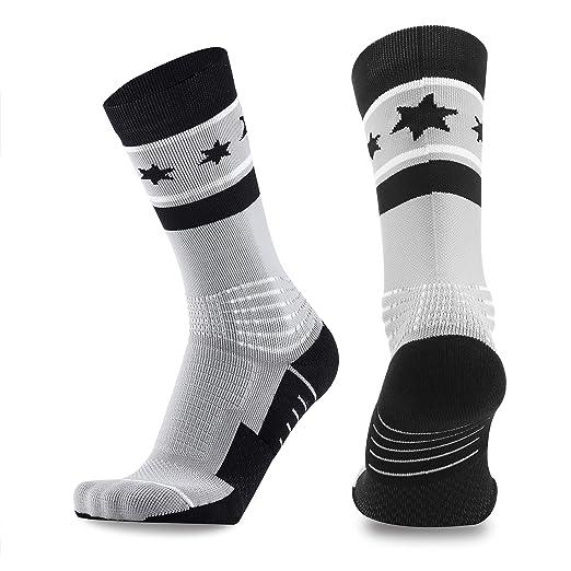 bd2b906c627ad Basketball Socks Elite Socks Athletic Sports Socks Athletic Crew Sport for  Men Women Boys Girls