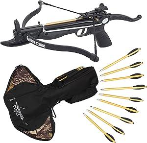 Prophecy Pistol Crossbow: 80-Pound Self Cocking with Cobra Limb System