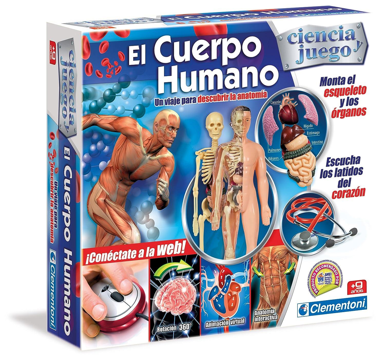 Clementoni Cuerpo Humano: Amazon.es: Juguetes y juegos