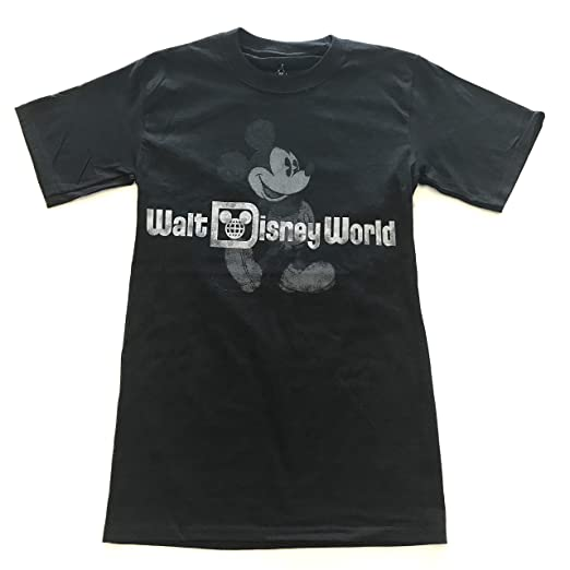 e286acfe6 DisneyParks Walt Disney World Mickey Classic Pose Shirt Adult Black (XS)