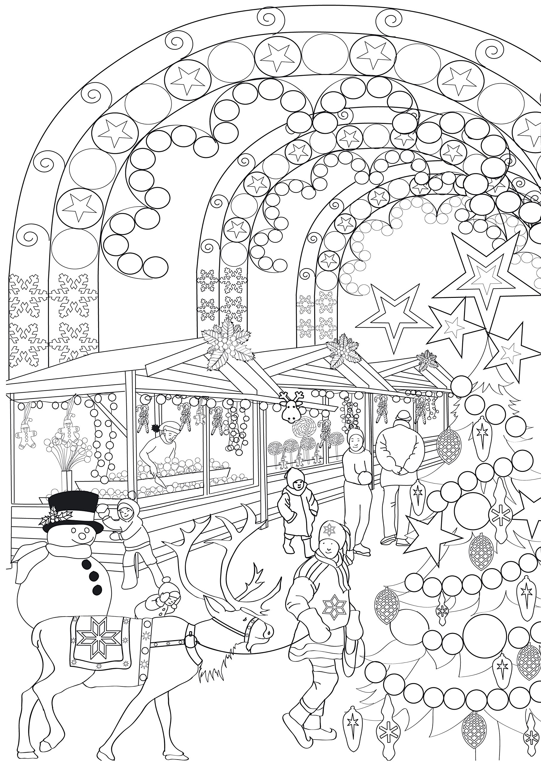 Hiver 100 coloriages anti stress Art therapie French Edition Julie Terrazonni Hachette Amazon Books