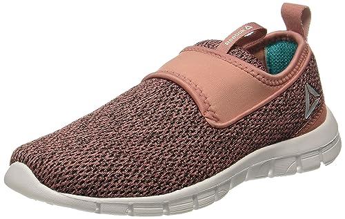 4f05efd4fbb2 Reebok Women s Tread Walk Lite Black Sandy Rose Teal Nordic Walking Shoes-4