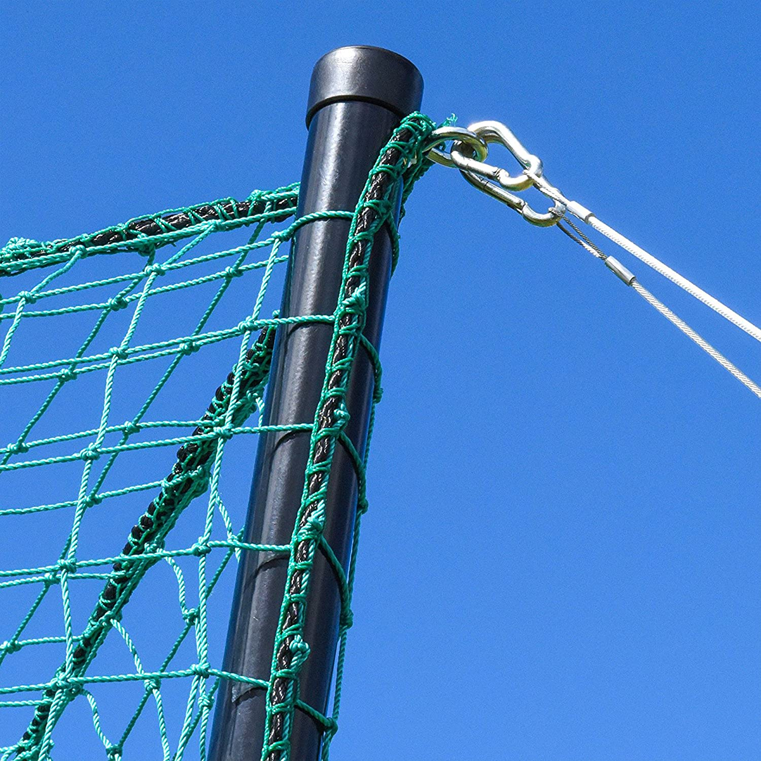 Archery Back Stop Netting *Premium Grade* Choice of 6 Different Sizes Green//White Net World Sports