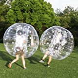 Popsport Inflatable Bumper Ball Set 4FT Bubble