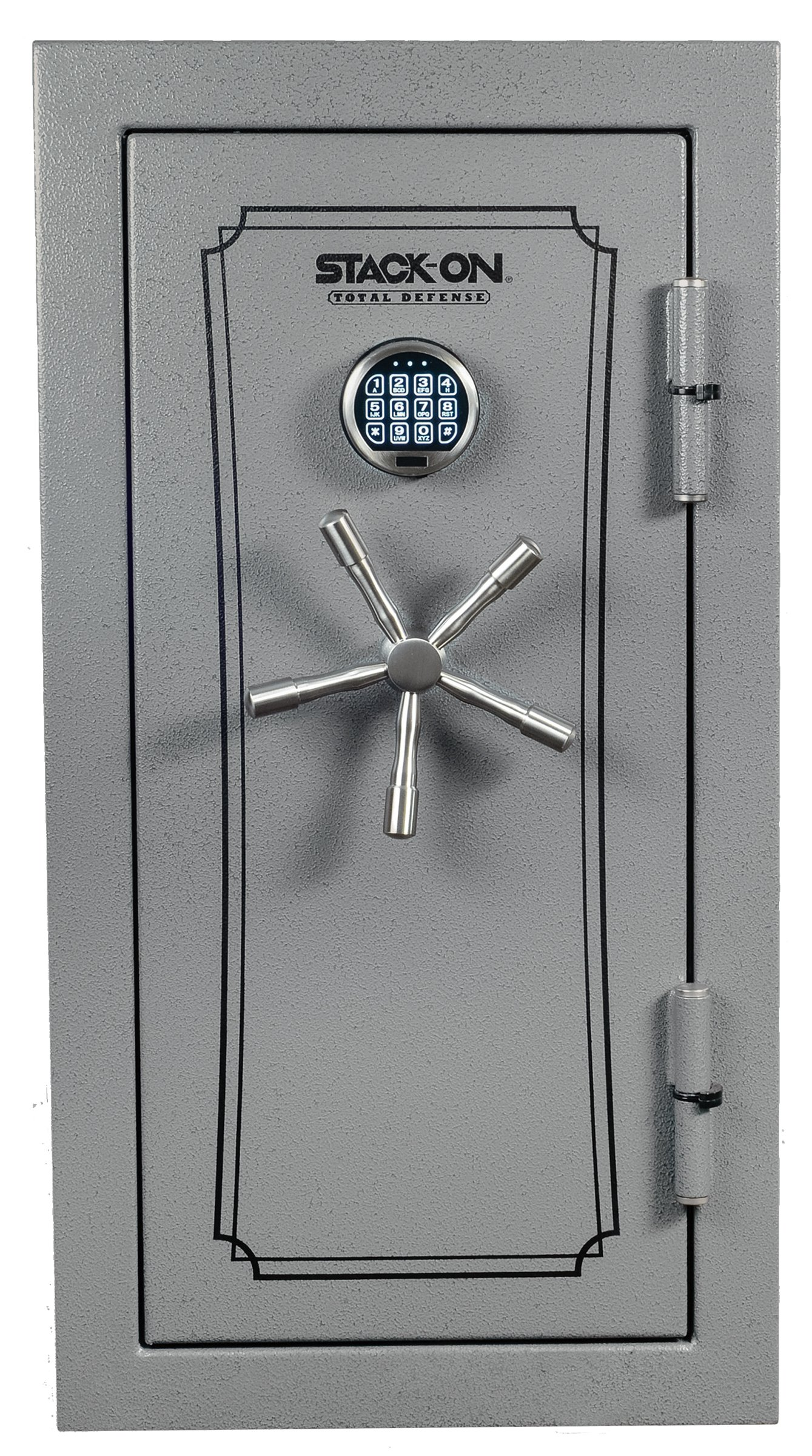 Stack-On TD-040-GP-E Total Defense Executive Safe with Electronic Lock, Gray Pebble by Stack-On