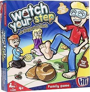 TOYLAND Juego de Mesa Familiar Cuida tu Paso ... - Juegos de Mesa Divertidos Edad 4+ 1 o Más Jugadores: Amazon.es: Juguetes y juegos