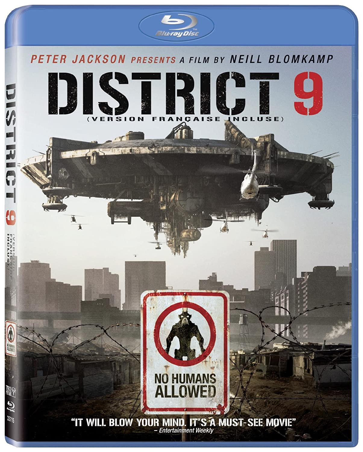 District 9 (Bilingual) [Blu-ray] Sharlto Copley David James Jason Cope Nathalie Boltt