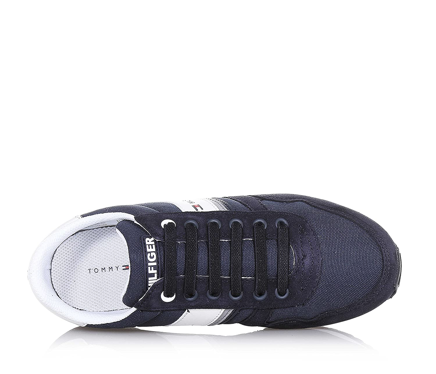 24ff9d05 TOMMY HILFIGER MAXWELL JR 3C MIDNIGHT SNEAKERS CAMOSCIO BLU: Amazon.co.uk:  Shoes & Bags