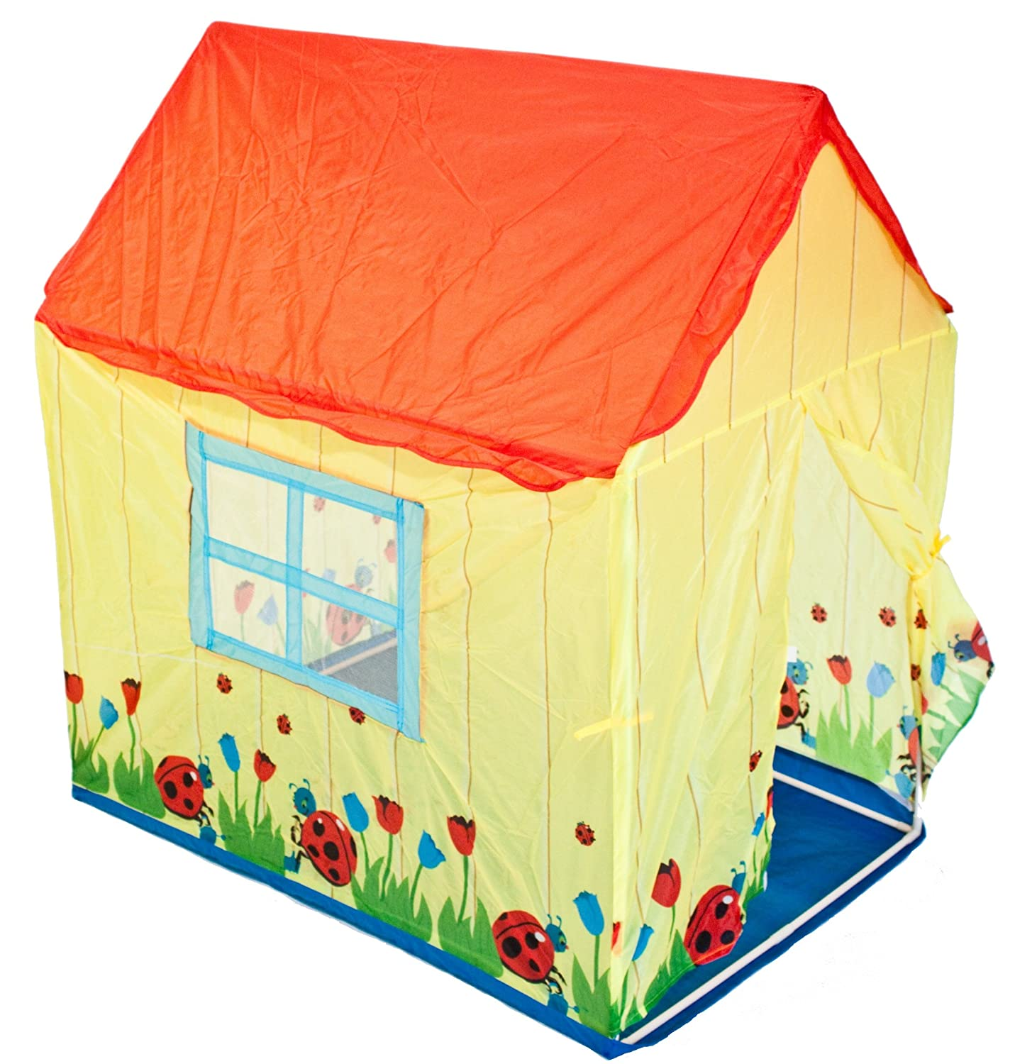 Traditional Garden Games Ladybird House Play Tent Amazon.co.uk Toys u0026 Games  sc 1 st  Amazon UK & Traditional Garden Games Ladybird House Play Tent: Amazon.co.uk ...
