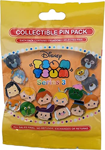 Disney Parks Mickey Character Ears Mystery 5 Pin Bag Pack Sealed NEW