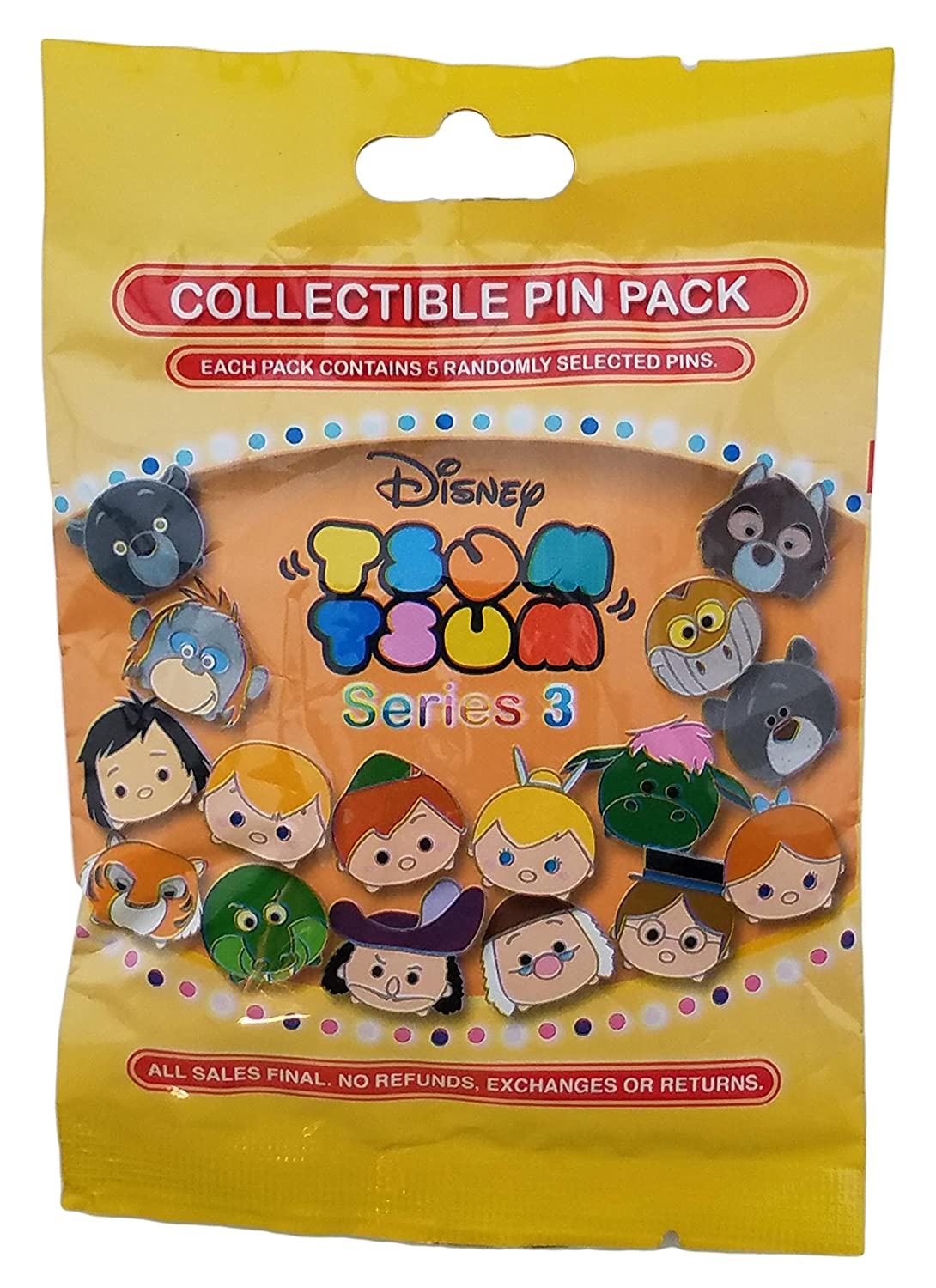 Disney Pin - Tsum Tsum Mystery Pin Pack - Series 3