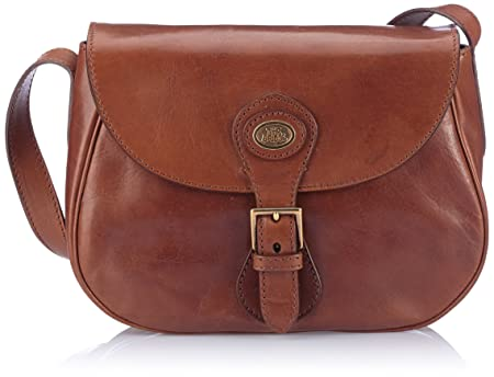 eb07be01da0 Image Unavailable. Image not available for. Colour: The Bridge Messenger  Bags 04453401-14 Brown
