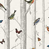 Holden Decor 12231papier Collection Enchanted Garden Papier peint 10.05x 0.53m