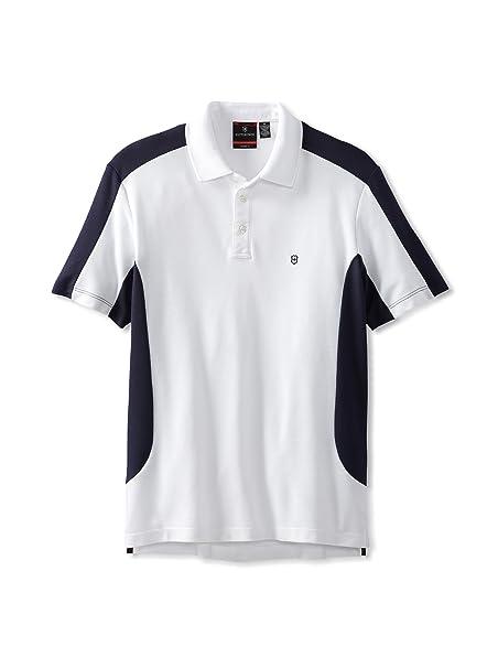 Victorinox - Polo - para Hombre Blanco Blanco Extra-Large: Amazon ...