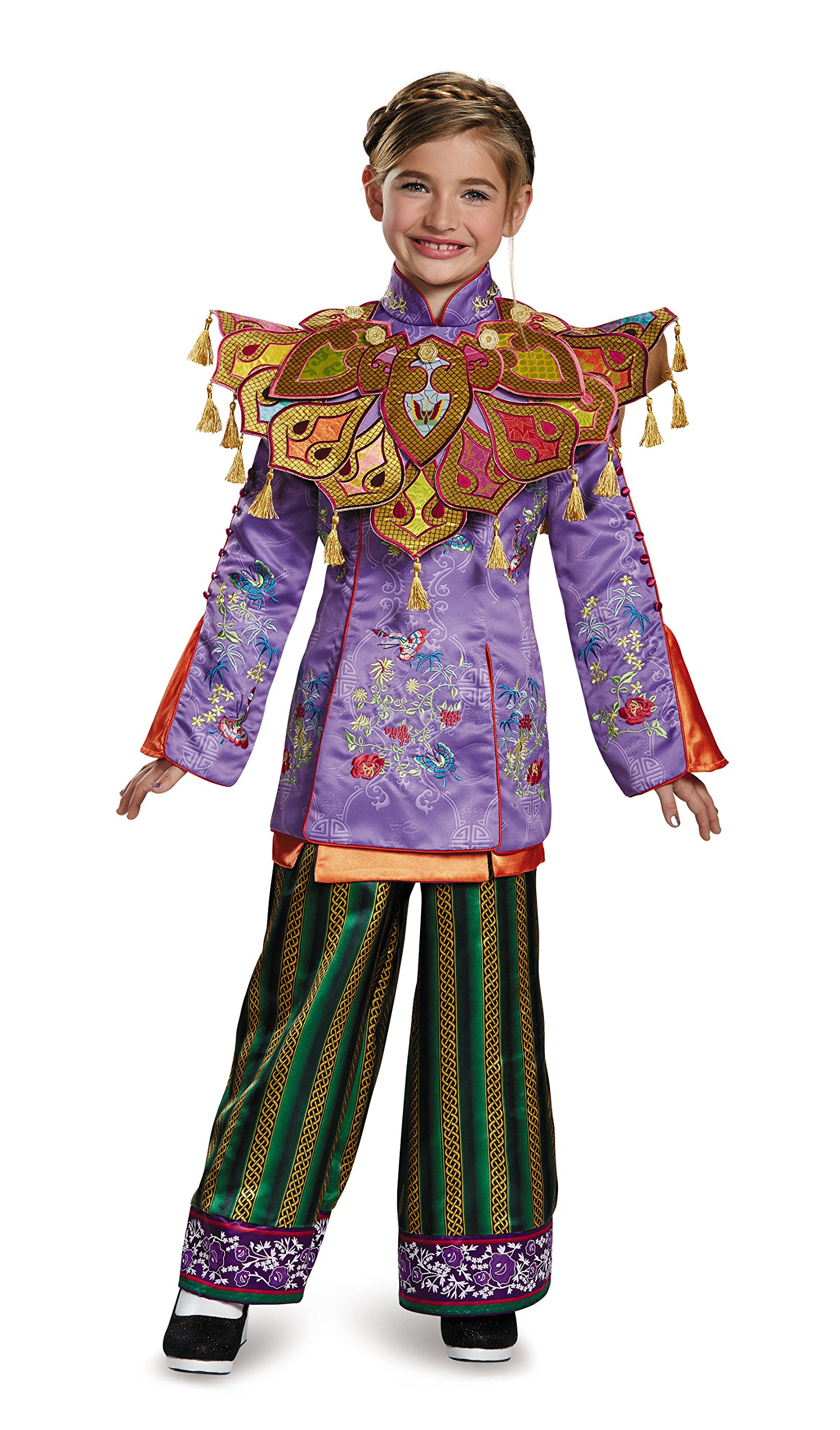 Disguise Alice Ultra Prestige Alice Through The Looking Glass Movie Disney Costume, Large/10-12 by Disguise