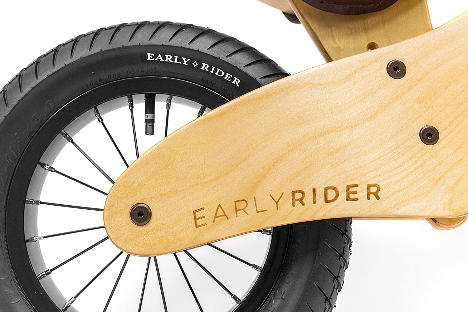 Early Rider Classic 12/ 14 - Bicicleta sín pedales en madera ...