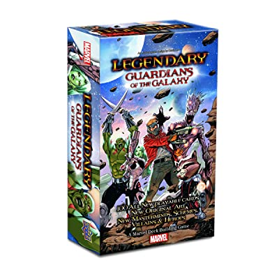 Marvel Legendary Guardians of The Galaxy Board Game: Upper Deck Entertainment: Toys & Games