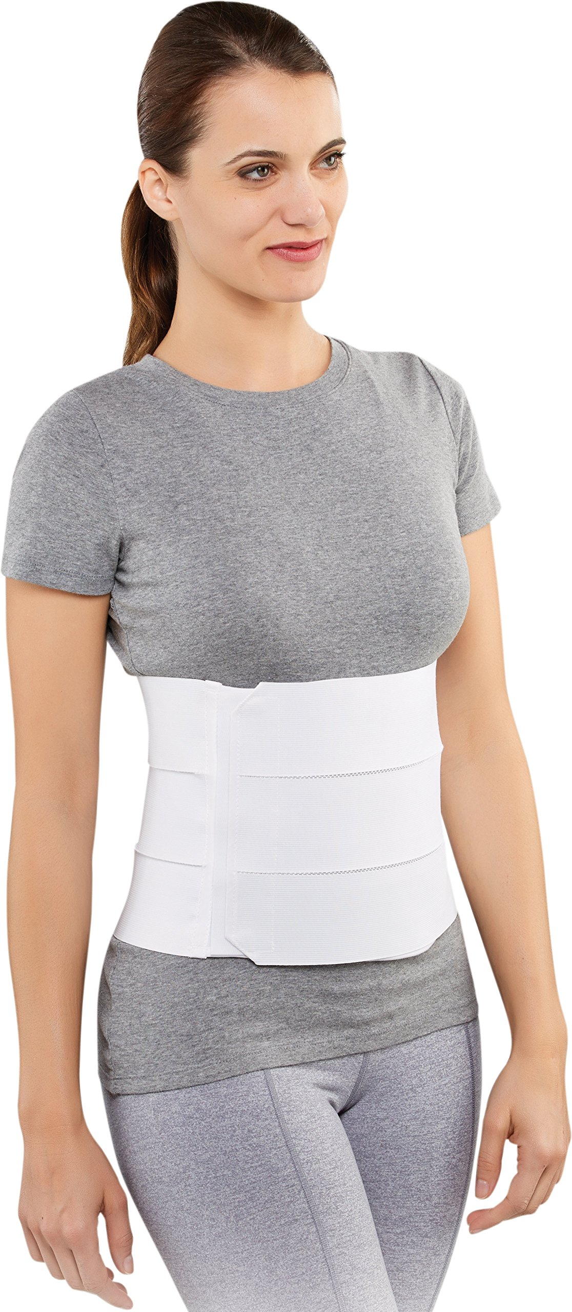 Bell-Horn Elastic Abdominal Support Binder, Small/Medium (Waist: 30'' - 45'')