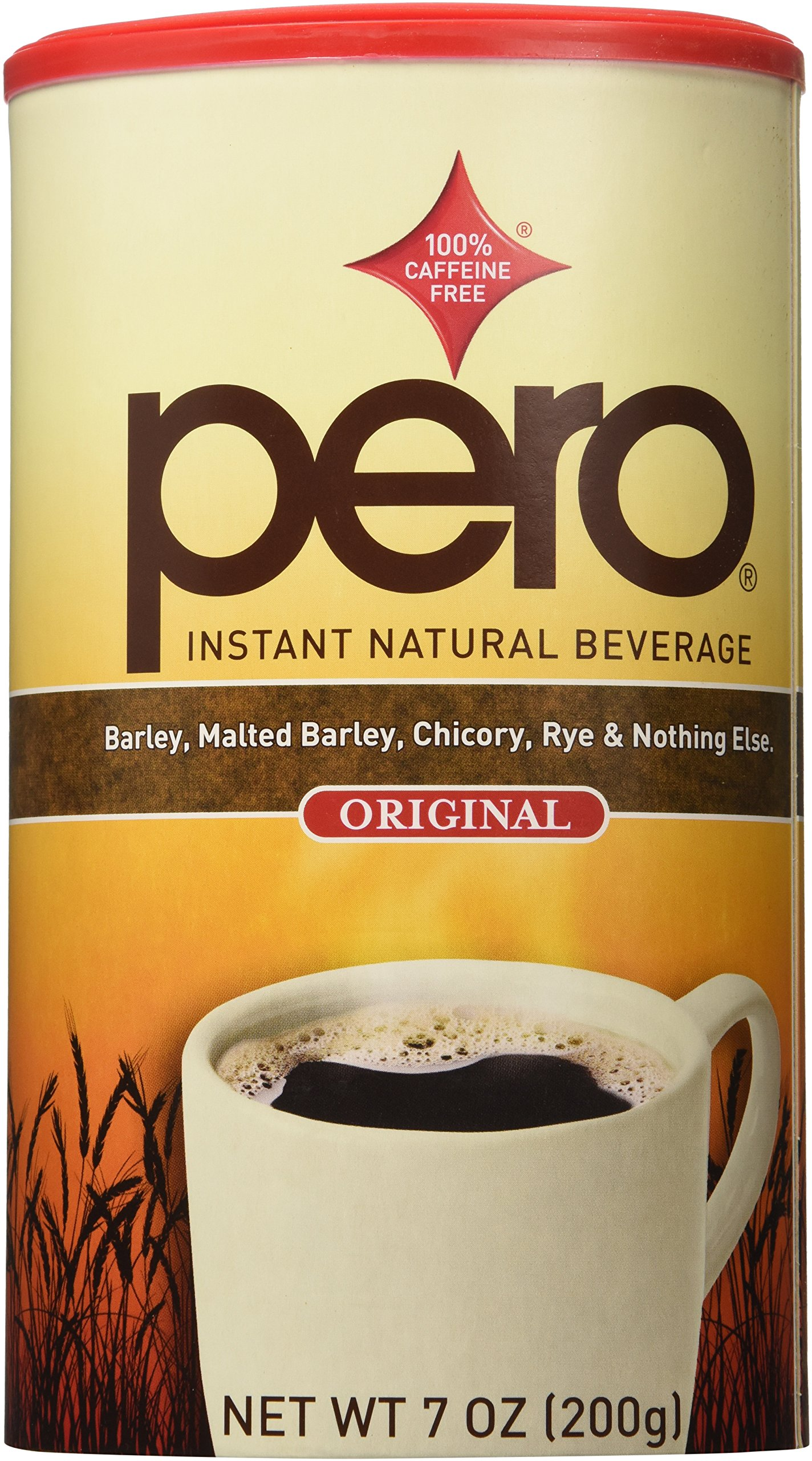 Pero Instant Natural Beverage, 7 Ounce (Pack of 2) by Pero