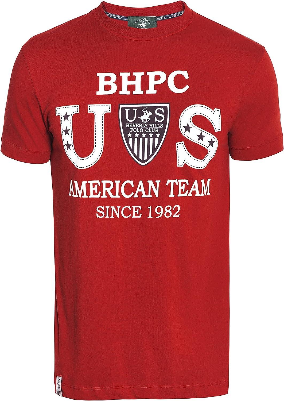 Beverly Hills Polo Club - Camiseta - para Hombre: Amazon.es: Ropa ...