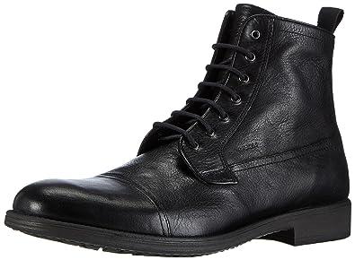 Geox UOMO U jaylon B Classic Stivali Nero Black C9999 9.5 UK