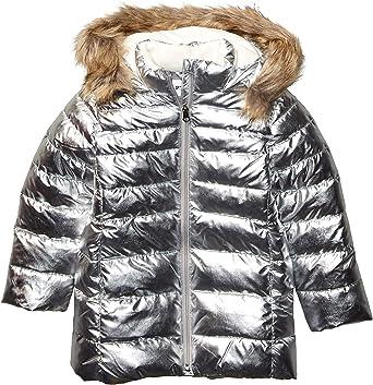 Spotted Zebra Girls Long Puffer Coat