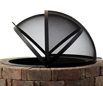 Amazon Com Hampton S Buzaar 36 Inch Fire Pit Easy Access Spark