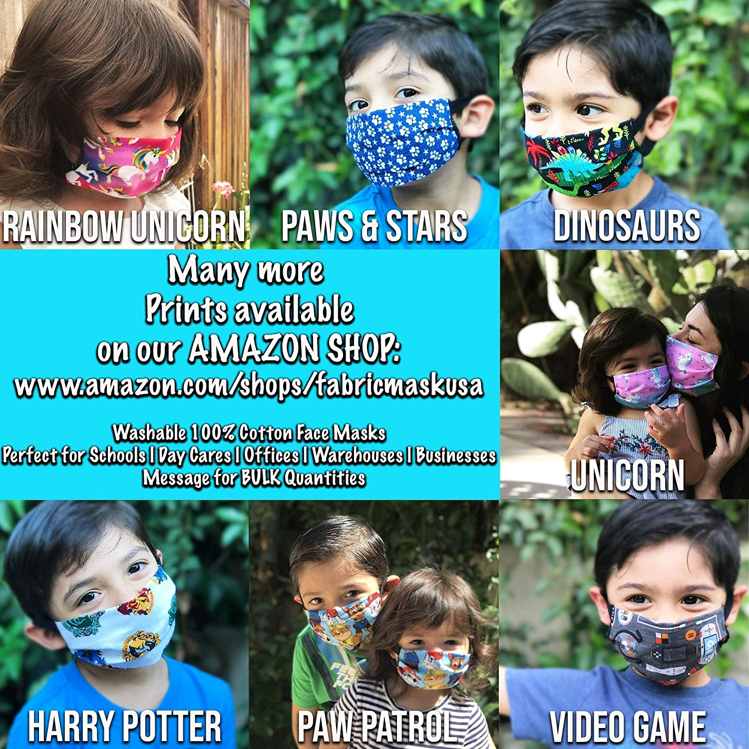 Amazon Com Yankees Face Mask For Kids And Toddlers With Filter Pocket Made Of Washable Reusable 100 Cotton Fabric Optional Adjustable Ear Straps Made In Usa Free Shipping Handmade