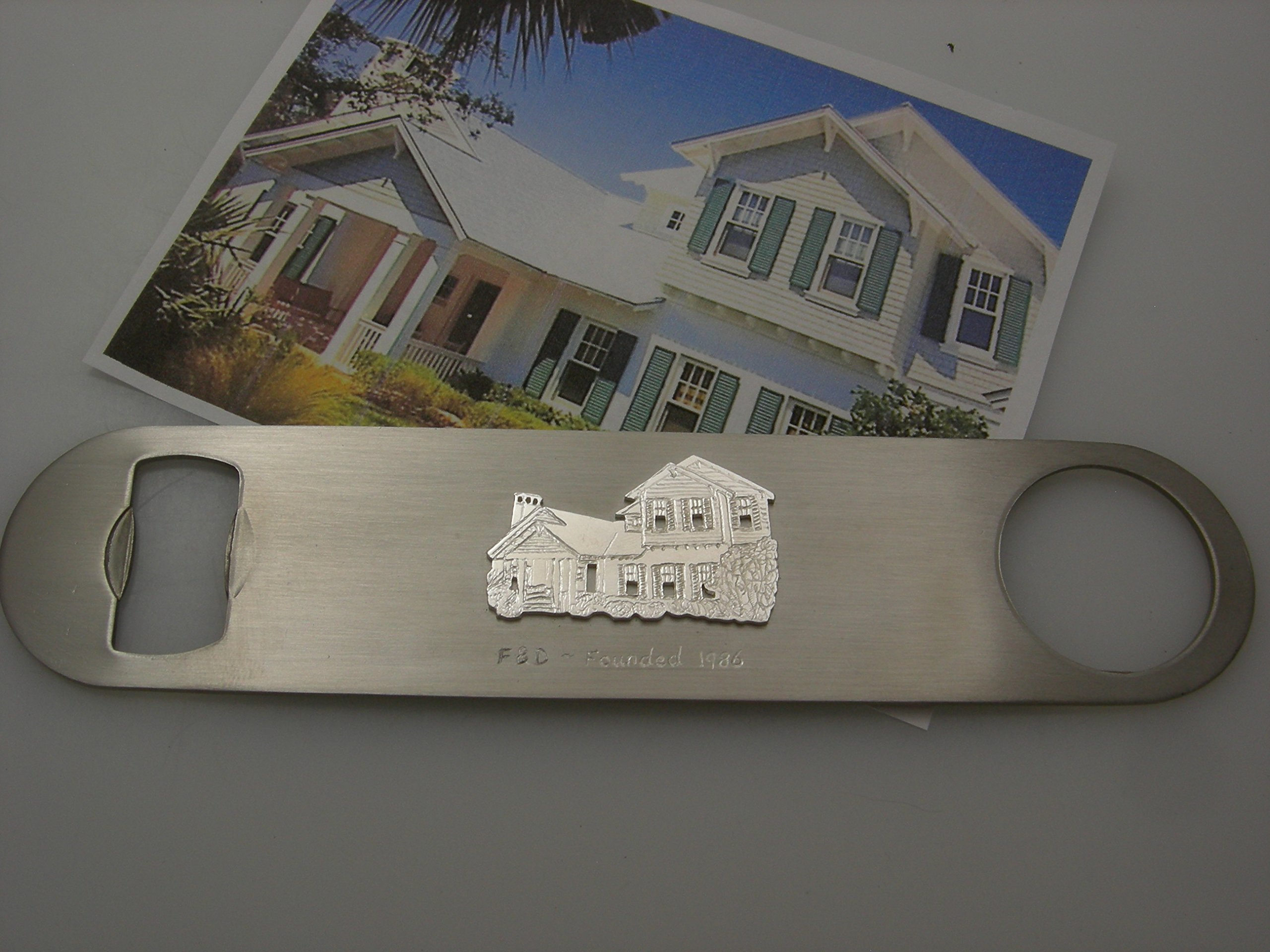 Custom Bottle Opener with Artwork- Great Gift for Dad- Personalized Gift with Kid's Artwork