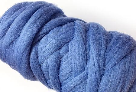 Ovillo de lana XXL gigante para tejer y tricot, gruesas mallas ...