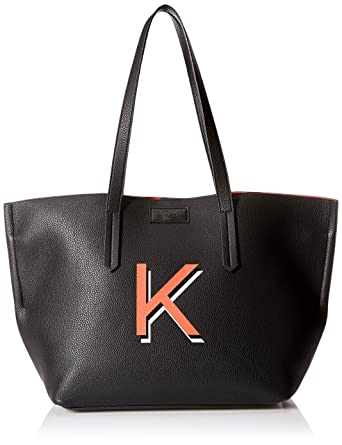 3a866417552f8 Amazon.com: KENDALL + KYLIE womens IZZY, Black Pebble, One Size ...
