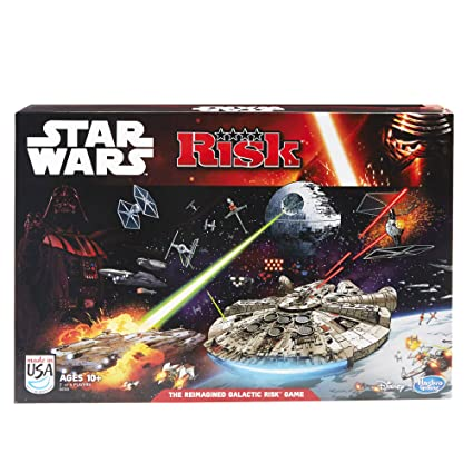 79c1b54249e Hasbro Risk: Star Wars Edition Game: Amazon.com.mx: Juegos y juguetes