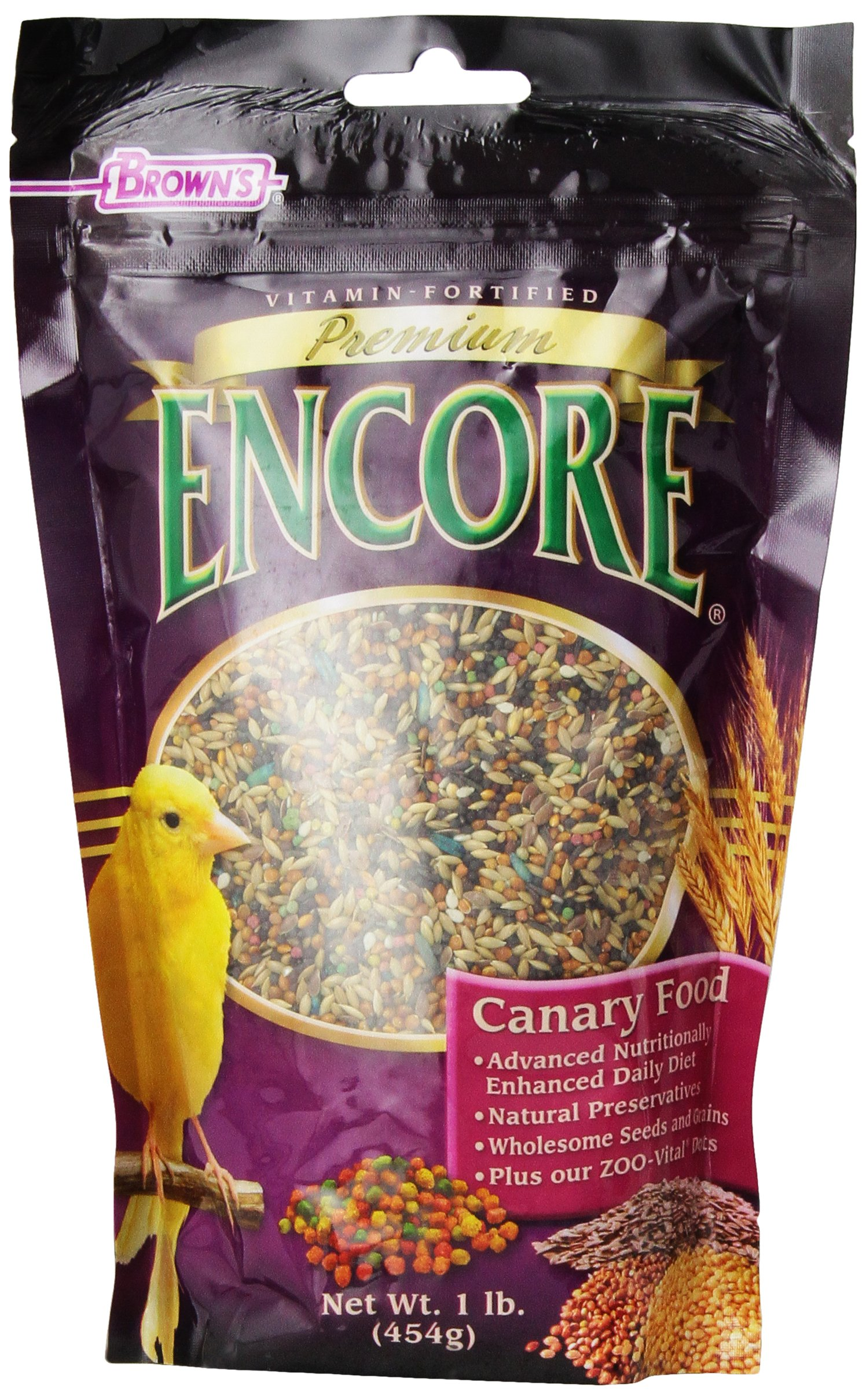 F.M. Brown's Encore Canary Food, 1-Pound