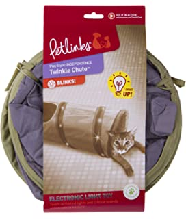 Petlinks System Twinkle Chute Cat Tunnel, 33