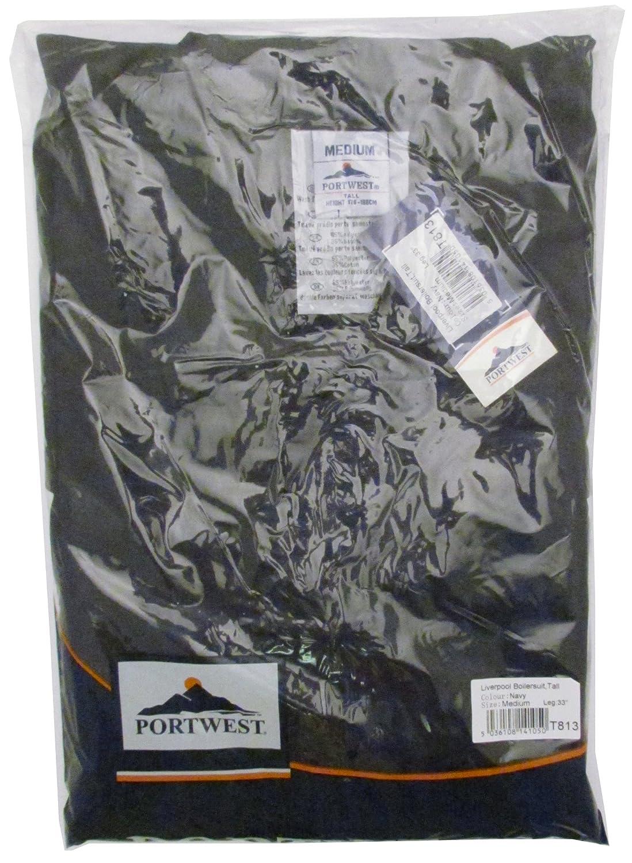 Portwest C813 Postal/Boiler suit Postcard 4XL Armada