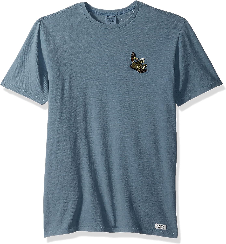 Burton Mens Passing Through Short Sleeve T-Shirt