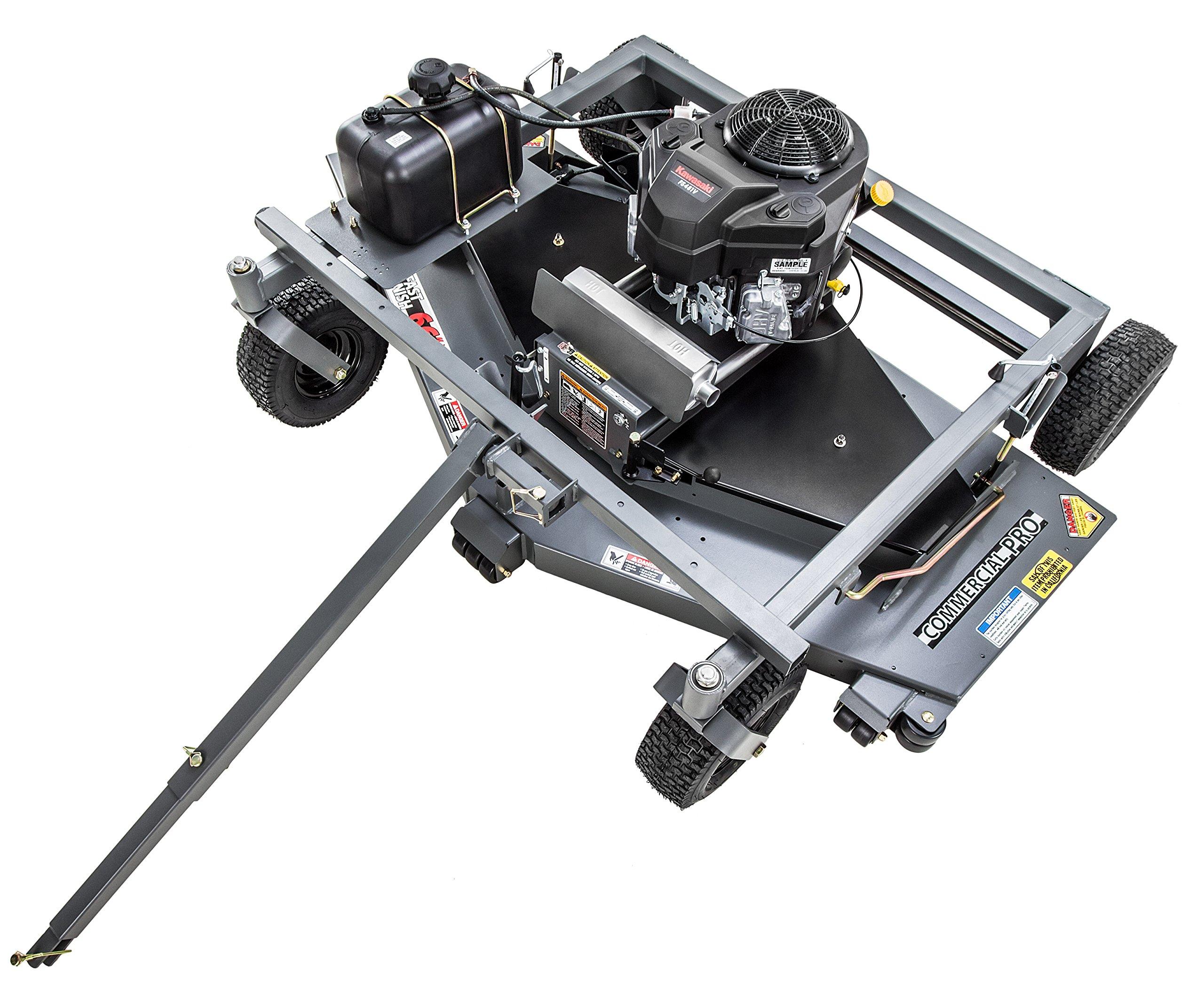 Swisher FC14566CPKA-CA 14.5HP 12V Kawasaki Commercial Pro Trail Mower California Compliant, Gray, 66''