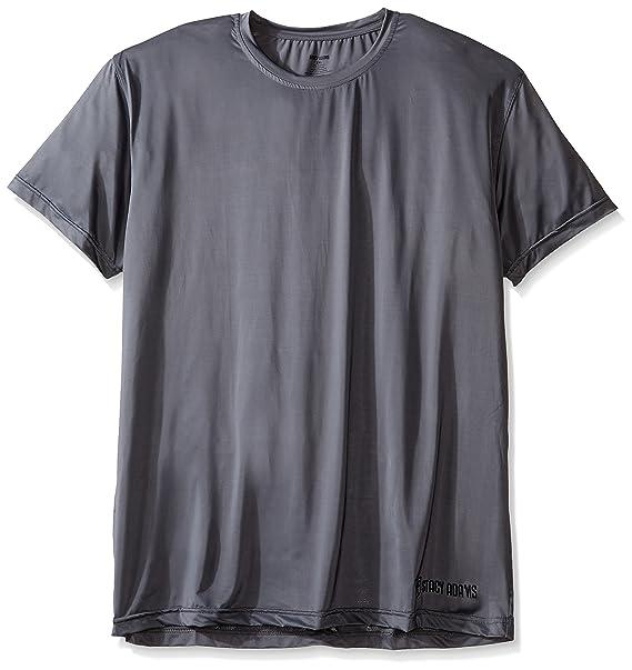Grande y alto cuello camiseta Stacy Adams hombre, gris, 3, X-grande